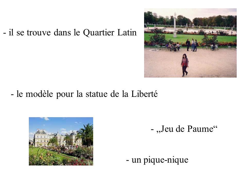 Jardin du Luxembourg 14.00 – 15.30