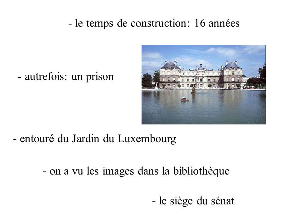 Palais du Luxembourg 12.00 – 14.00