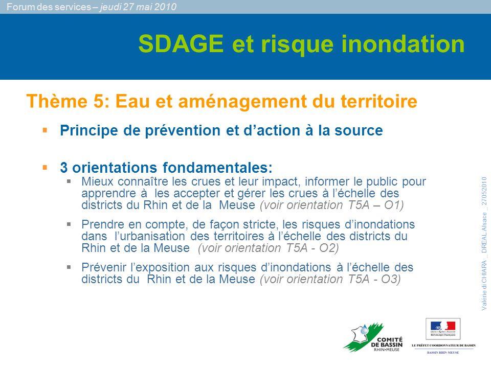 Principe de prévention et daction à la source 3 orientations fondamentales: §Mieux connaître les crues et leur impact, informer le public pour apprend