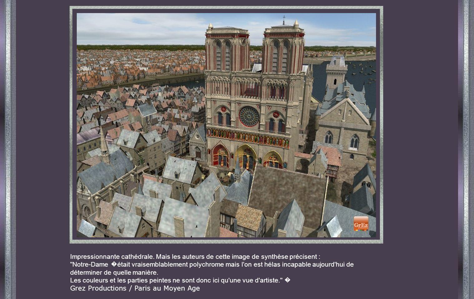 Impressionnante cathédrale.