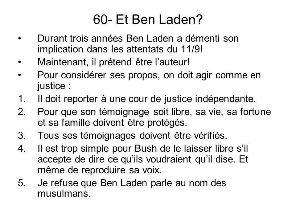 60- Et Ben Laden.