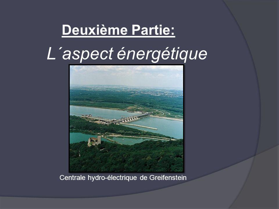 Deuxième Partie: L´aspect énergétique Centrale hydro-électrique de Greifenstein