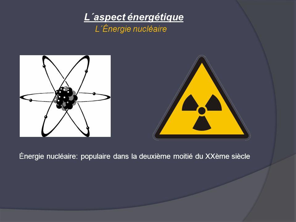 L´aspect énergétique L´Énergie nucléaire Énergie nucléaire: populaire dans la deuxième moitié du XXème siècle