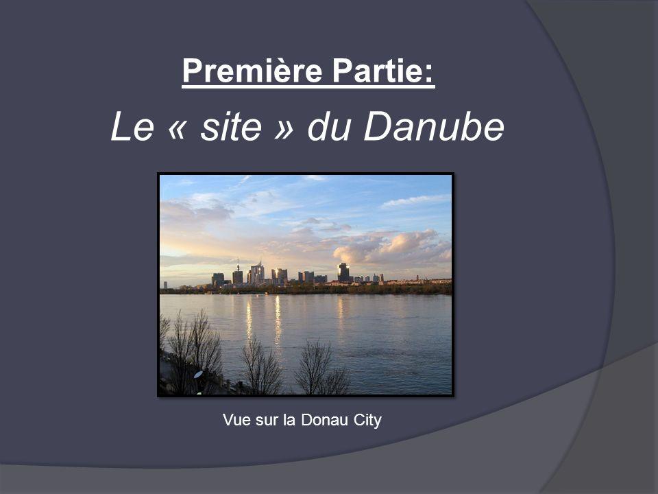 Première Partie: Le « site » du Danube Vue sur la Donau City