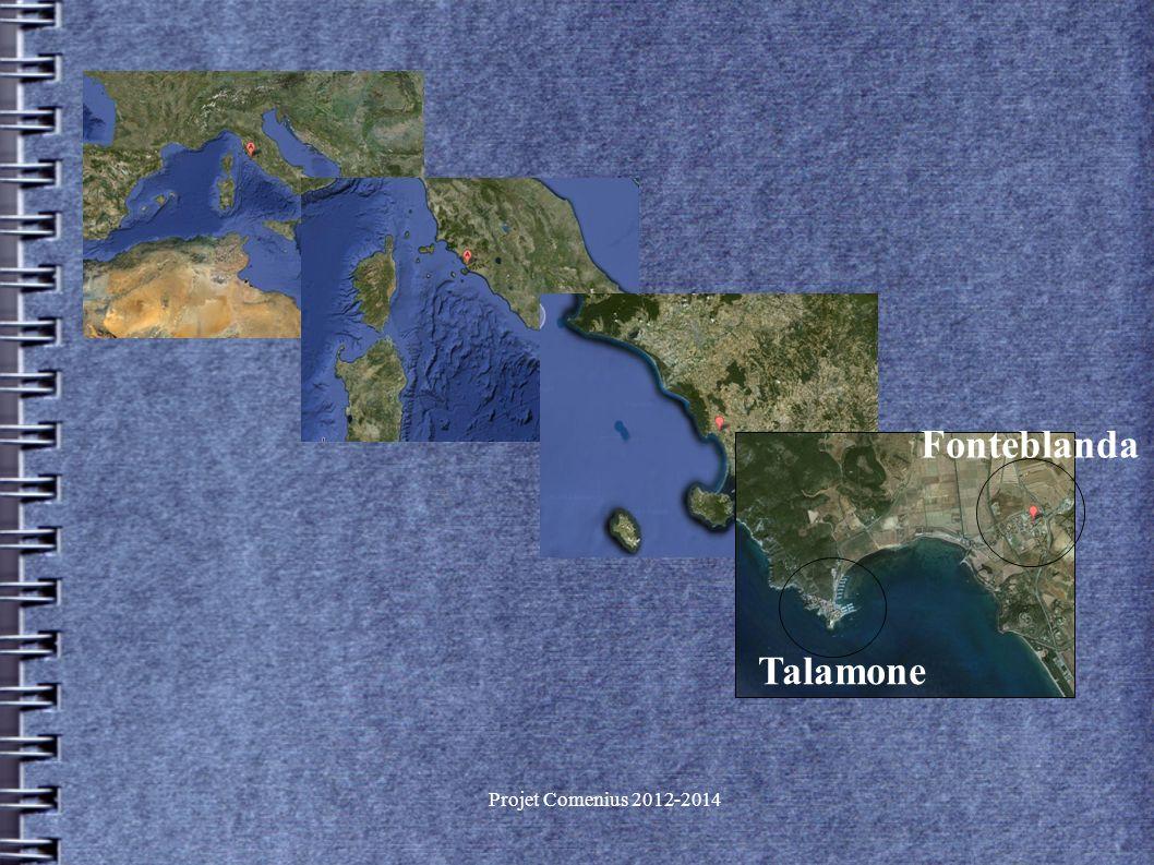 Projet Comenius 2012-2014 Talamone Fonteblanda