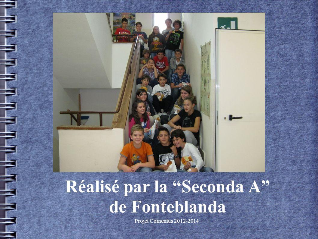 Projet Comenius 2012-2014 Réalisé par la Seconda A de Fonteblanda