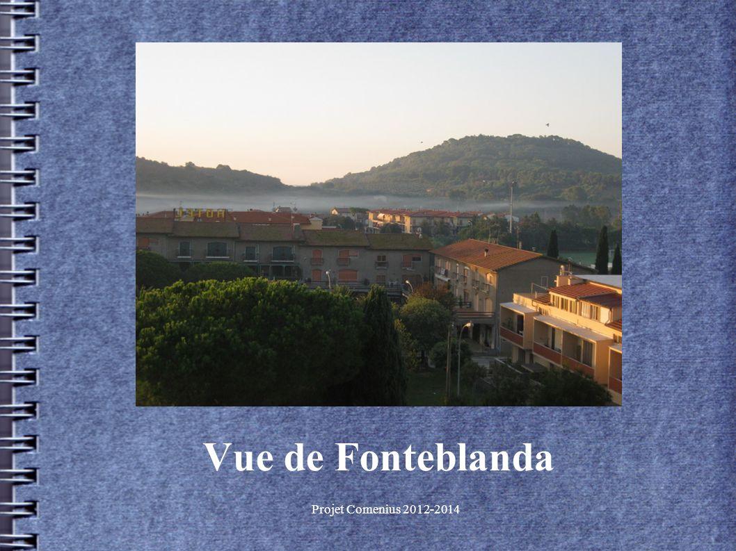 Projet Comenius 2012-2014 Vue de Fonteblanda