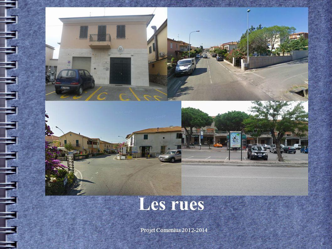 Projet Comenius 2012-2014 Les rues