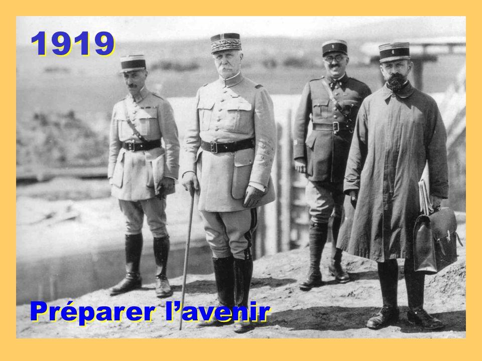 1919 Préparer lavenir