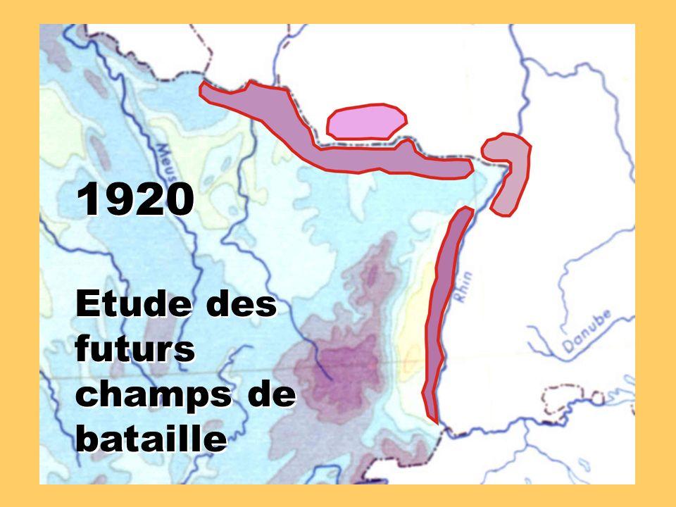 1920 Etude des futurs champs de bataille 1920 Etude des futurs champs de bataille