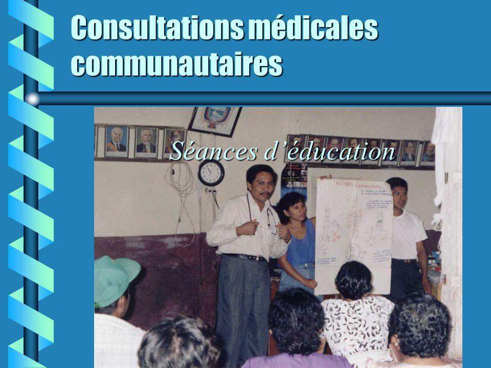 Consultations médicales communautaires Consultations