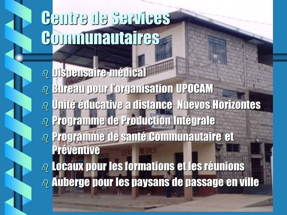 Formation Formation de promoteurs de la santé communautaire