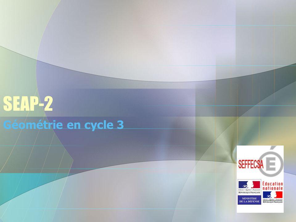 SEAP-2 Géométrie en cycle 3