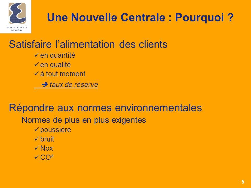 4 Compagnie Nationale du Rhône C.A. : 354 millions dEuros Effectif : 700 collaborateurs Production : 16 TWh/an – 2 937 MW 3 % de la production françai
