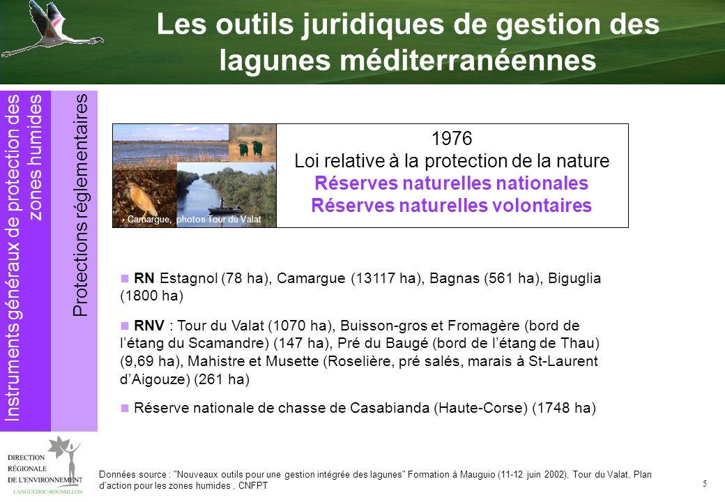 5 1976 Loi relative à la protection de la nature Réserves naturelles nationales Réserves naturelles volontaires Camargue, photos Tour du Valat RN Esta
