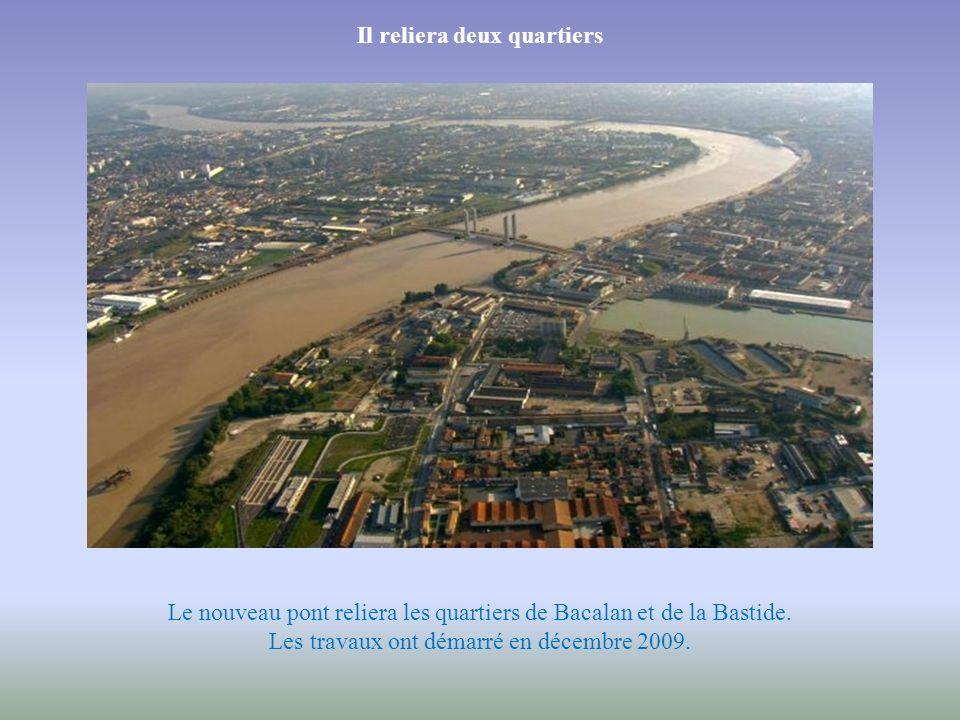 Depuis de nombreuses années, Bordeaux souffre du manque d'ouvrages pour traverser la Garonne. En 2012, la ville disposera d'un nouveau pont : le pont