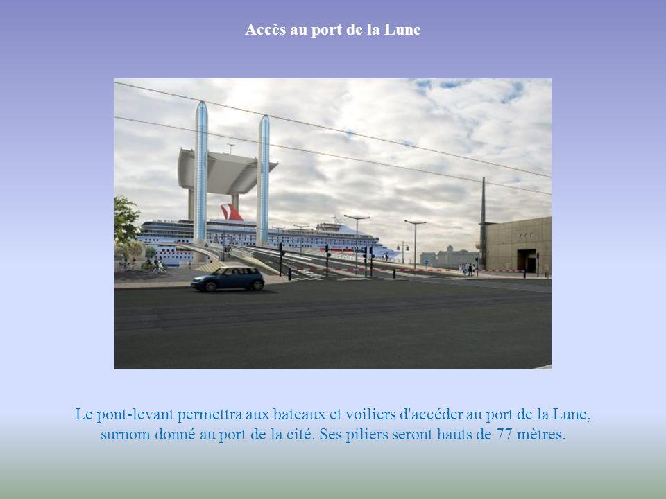 Des dimensions exceptionnelles Construit par GTM-Vinci, l'ouvrage, haut de 77 m, permettra le passage des bateaux. Son tablier sera large de 32 à 45 m