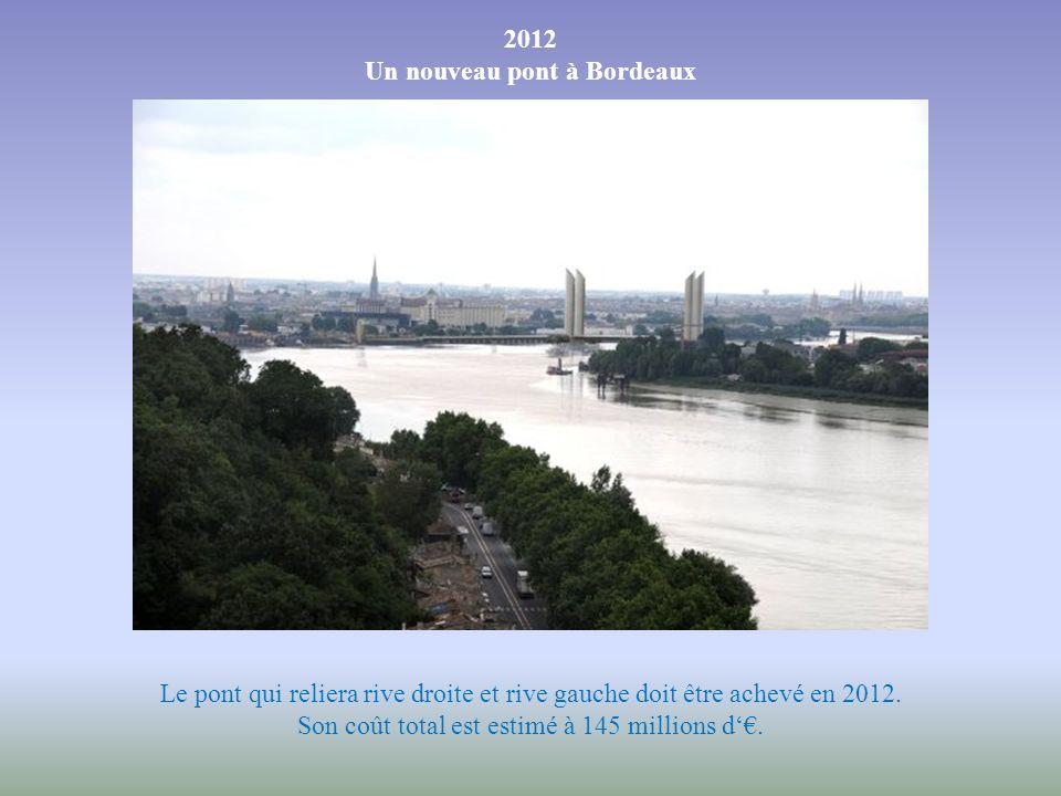 Un projet de dix ans Développé par la mairie et par la communauté urbaine de Bordeaux, ce projet de pont-levant a mis dix ans à aboutir. Des riverains