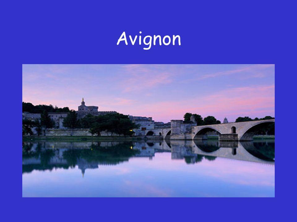 AVIGNON http://www.avignon.fr/fr/culture/tourisme/ Les armoiries d Avignon PORTE : de gueules, à trois clefs dor, posées en fasces.