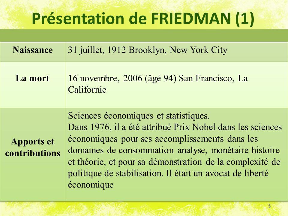 Présentation de FRIEDMAN (1) 3