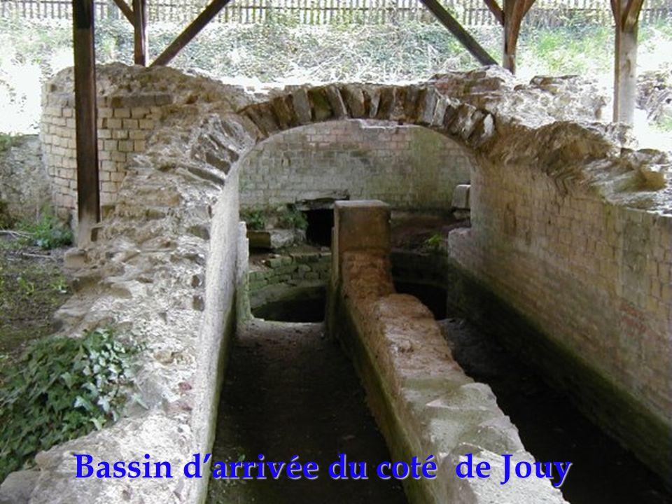 Bassin darrivée du coté de Jouy