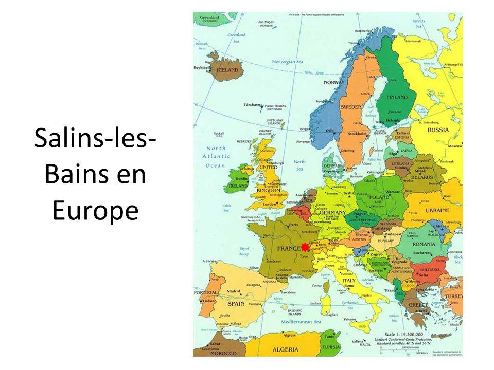 Question : Nous avons constaté quil y a beaucoup de structures en lien avec la santé à Salins-les-Bains (La Beline, le centre de réadaptation, les thermes…).