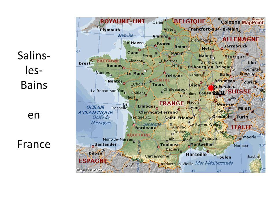 Salins- les- Bains en France Salins-les- bains
