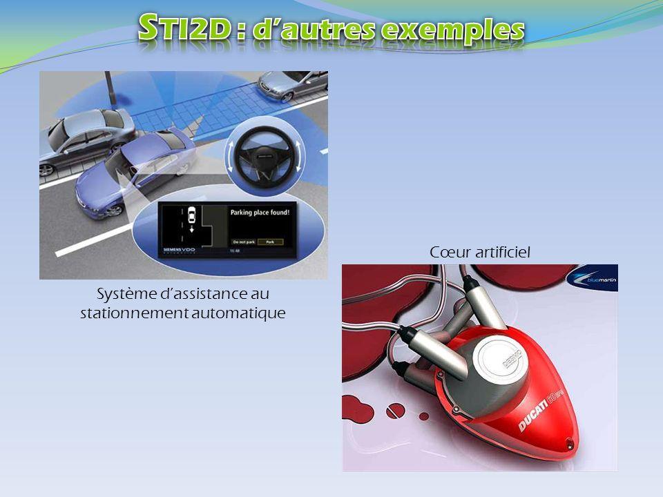 Système dassistance au stationnement automatique Cœur artificiel