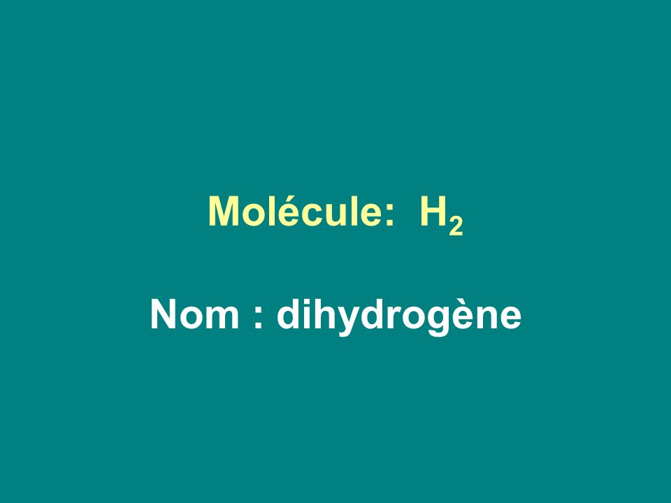 *Chaque hydrogène apporte1e - *Le soufre apporte 2 e - H S H
