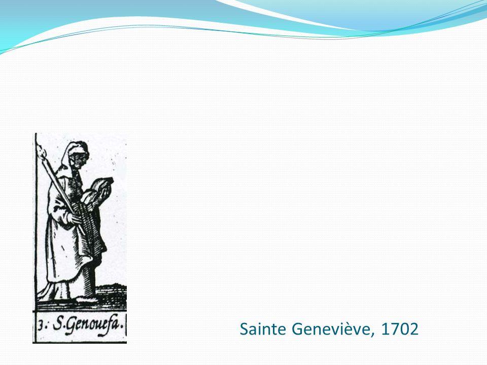 Sainte Geneviève, 1702