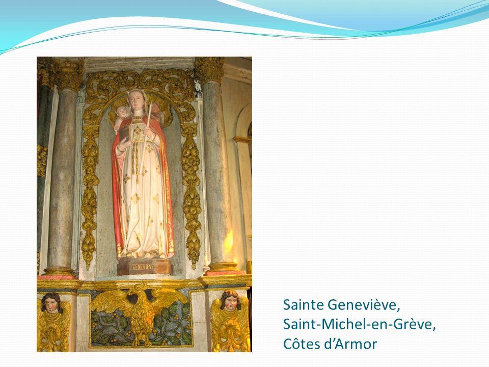 Sainte Geneviève, Saint-Michel-en-Grève, Côtes dArmor