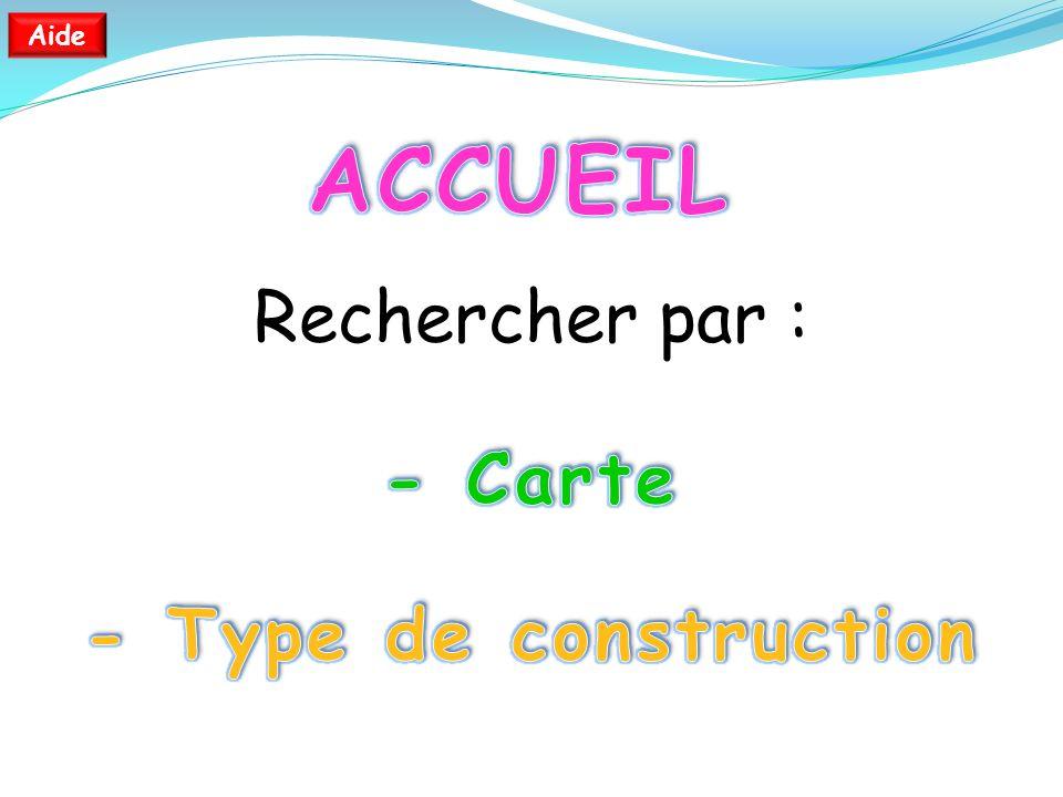 Sommaire Type de Construction Carte Ile de Cayenne