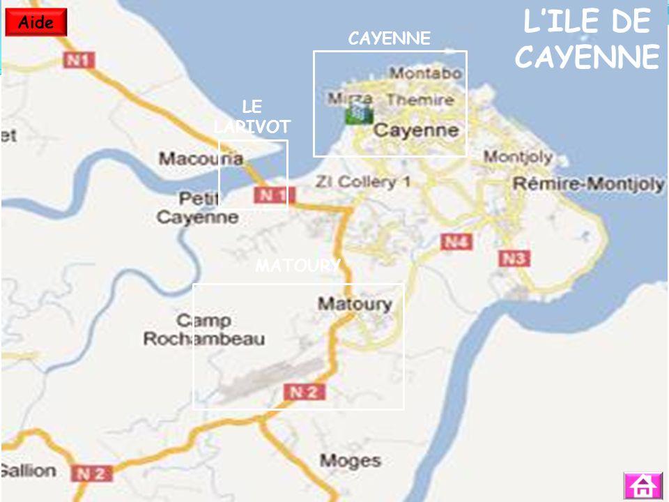 LILE DE CAYENNE CAYENNE MATOURY LE LARIVOT Aide