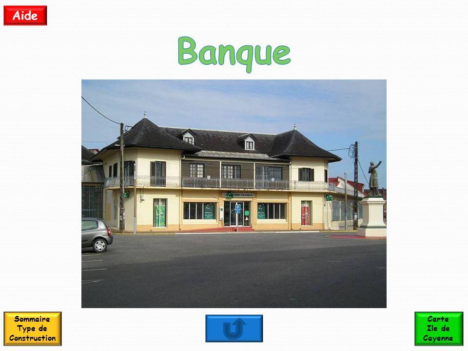 Sommaire Type de Construction Carte Ile de Cayenne Aide