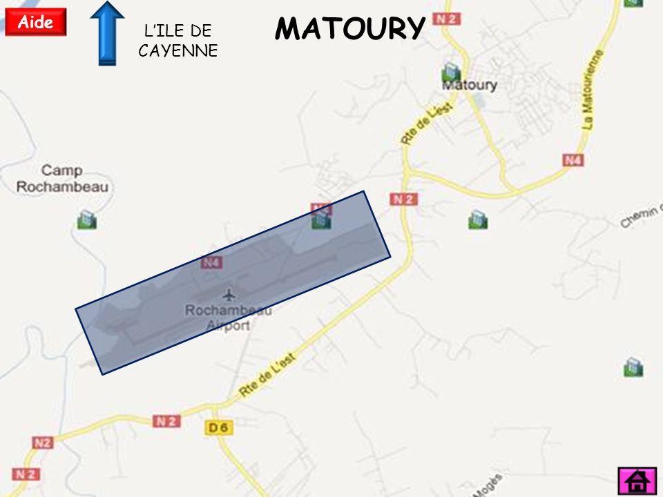 MATOURY Aide LILE DE CAYENNE