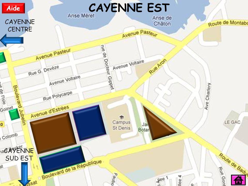 CAYENNE SUD CAYENNE EST Aide