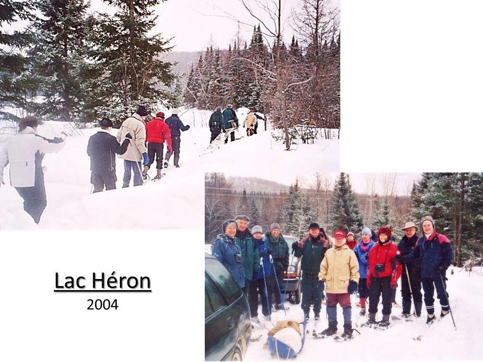 Lac Héron 2006 Lac Beaven 2009 Relevé des nichoirs à Canard branchus