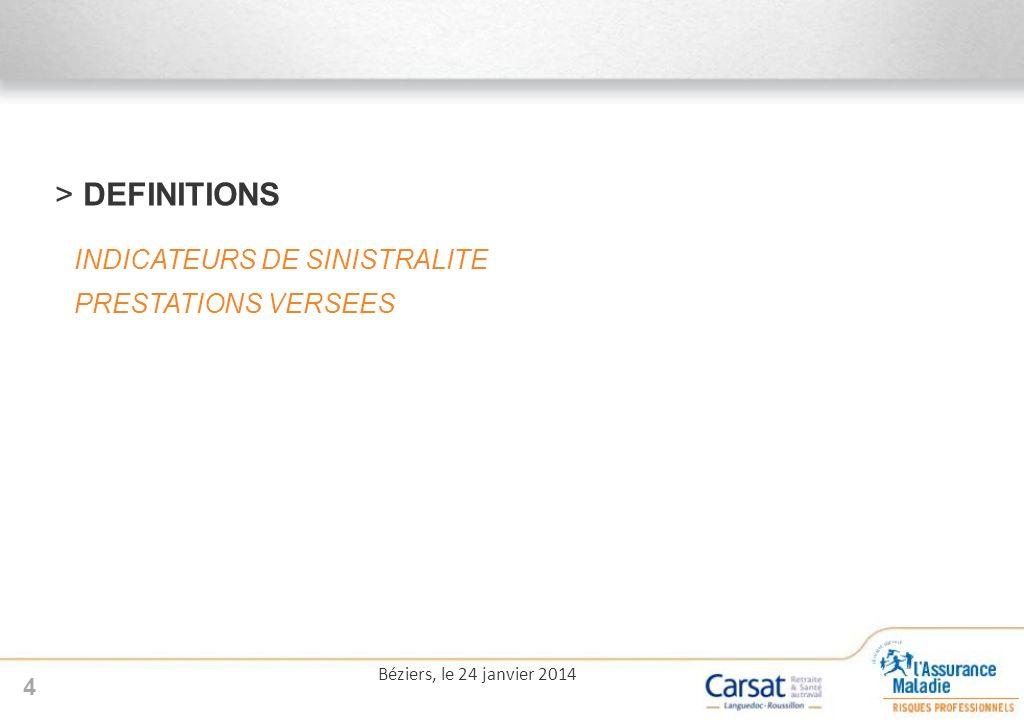 >Répartition nombre dAT par typologie 15 Béziers, le 24 janvier 2014