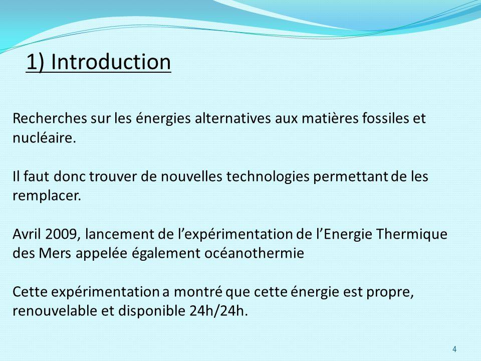 Recherches sur les énergies alternatives aux matières fossiles et nucléaire. Il faut donc trouver de nouvelles technologies permettant de les remplace