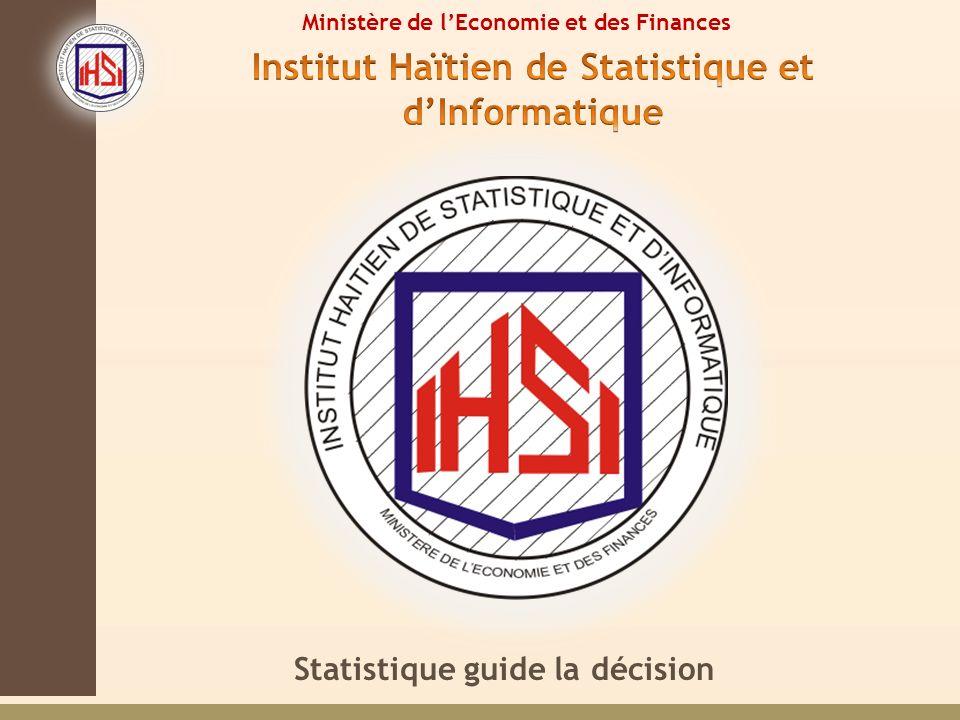 Statistique guide la décision Ministère de lEconomie et des Finances
