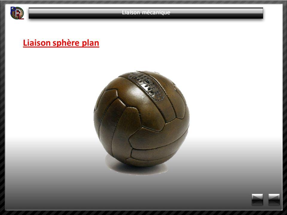 Liaison sphère plan