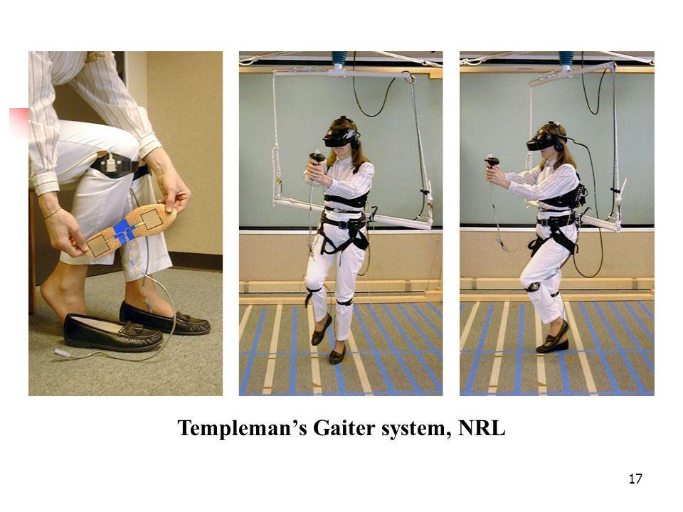 17 Templemans Gaiter system, NRL