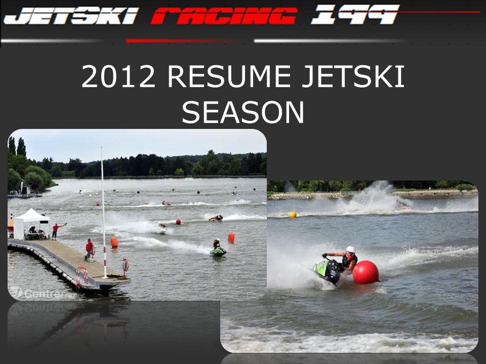 2012 RESUME JETSKI SEASON