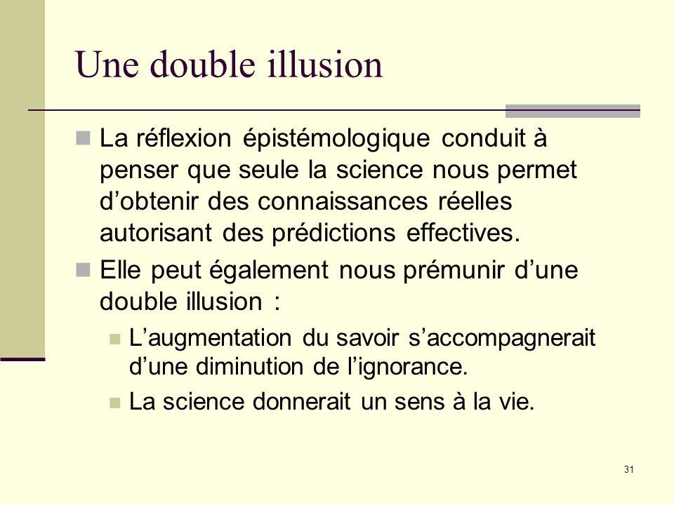 30 Dès lors, il est clair que les ratés de la pensée rationnelle à l'origine des théorisations pseudo-scientifiques des médecines alternatives recouvr