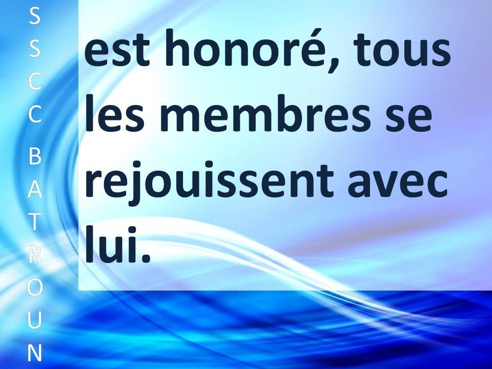 SSCC BATROUNSSCC BATROUN S S C C B A T R O U N est honoré, tous les membres se rejouissent avec lui.