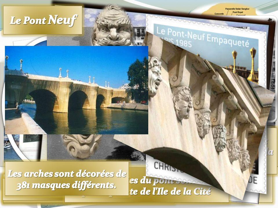 . Le Pont-Neuf Paris 1872 - Pierre-Auguste Renoir