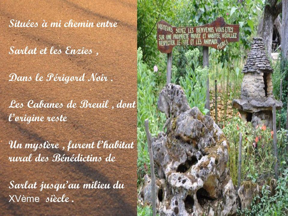 Situées à mi chemin entre Sarlat et les Enzies, Dans le Périgord Noir.