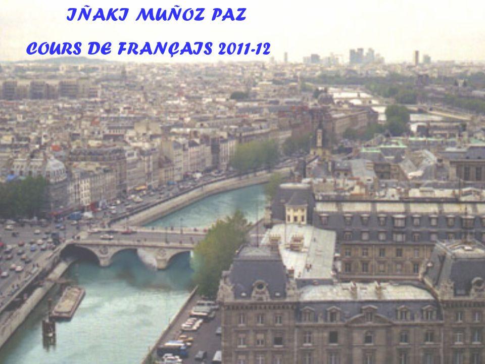 IÑAKI MUÑOZ PAZ COURS DE FRANÇAIS 2011-12
