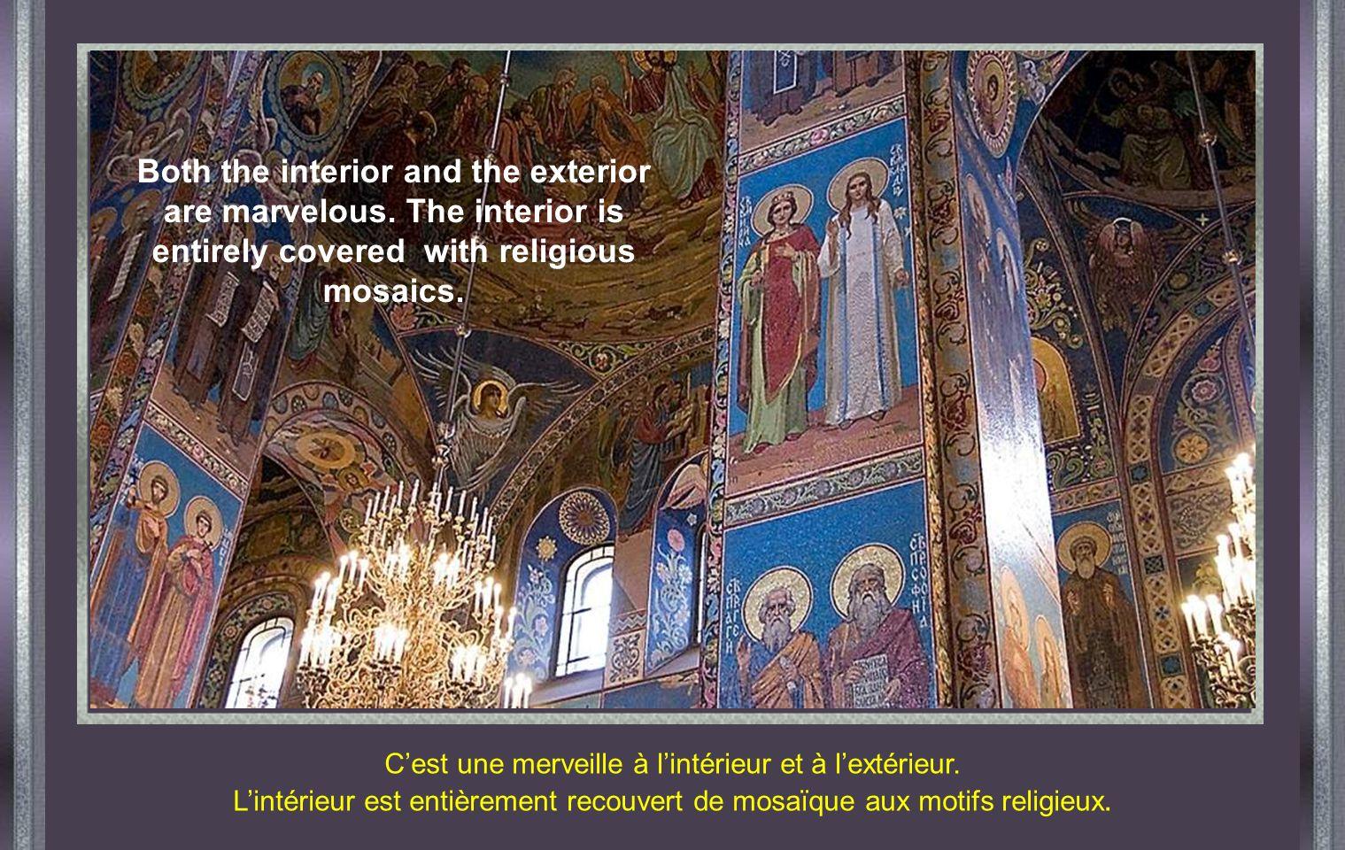 KIEV - RUSSIE Cathédrale SAINT MICHEL 1919 fut lannée la plus dramatique, lorsque le régime soviétique confisqua et détruisit des centaines déglises.