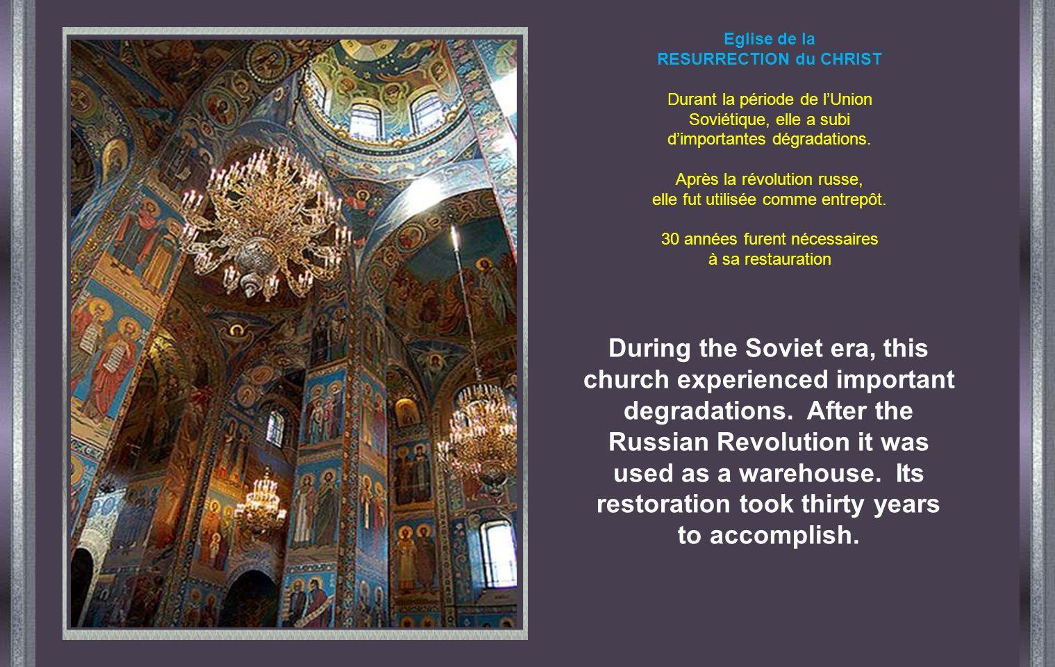 Cathédrale SAINT MICHEL Il fallut attendre 72 ans pour que commence sa reconstruction en lan 2000.